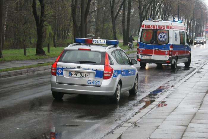 Policja Ostrów Wlkp.: Ostrowscy policjanci zareagowali natychmiast i uratowali mężczyznę